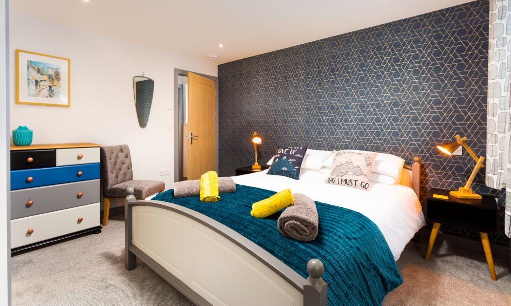 Double Bedroom at Sunnybank Cottage, Keswick