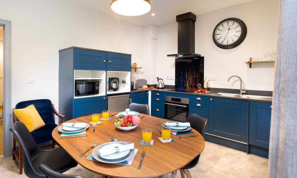 Kitchen/Diner at Sunnybank Self-catering Cottage, Keswick