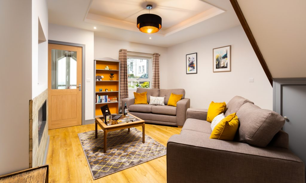 Sitting Room at Sunnybank Self-catering Cottage, Keswick