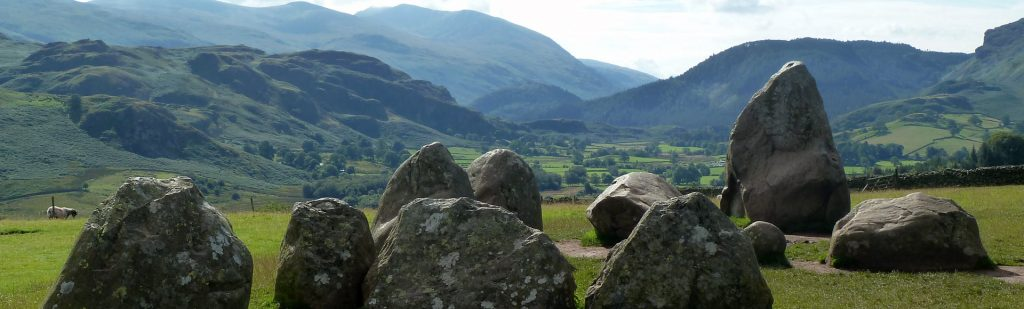 Stone Circle at Castlerigg in the Lake District